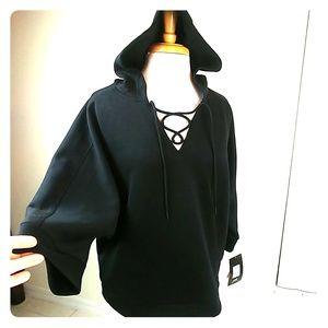 Avia, lace up hoodie sweatshirt NWT, XL